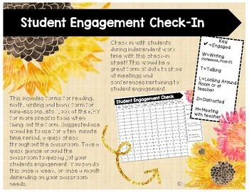Student Engagement Check-In Form