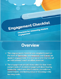 Student Engagement Checklist