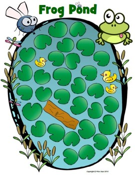 Student Engagement: Frog Pond Activity