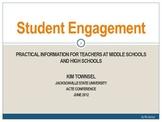 Student Engagement ~ Practical Advice for FCS Teachers
