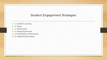 Student Engagement in Your Classroom