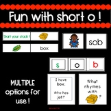 CVC short o - engaging activities for small group and whol