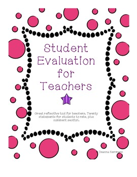 Student Evaluation for Teachers