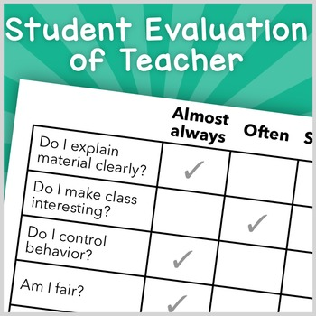 Student Evaluation of Teacher