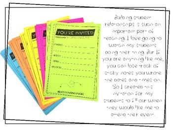 Student Event Invitation and Bulletin Board