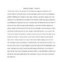 Student Example - Narrative
