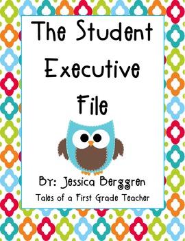 Student Executive File {Freebie}