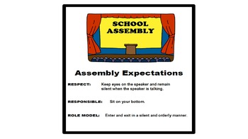 Student Expectation Posters