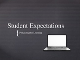 Student Expectations - Podcasting for Learning