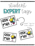 Student Expert (Ask Me) Tags