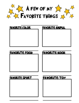 Student Favorites Page