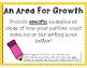 Student Feedback Anchor Charts, Handouts, and Organizer