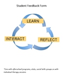 Student Feedback Form: Interact, Reflect and Learn