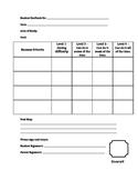 Student Feedback Rubric/Success Criteria