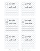Student Feedback:  Sticky Notes Template