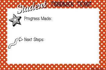 Student Feedback Tickets