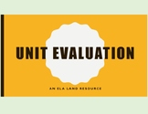 Student Feedback and Evaluation for your Unit