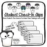 Student Feelings Check-In Slips