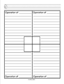 Student Fill In - Operation Key Words