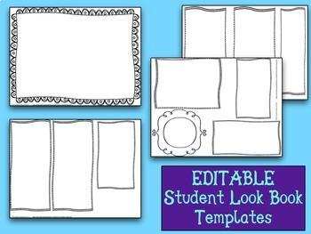 Student First Look Book using Manila Folders