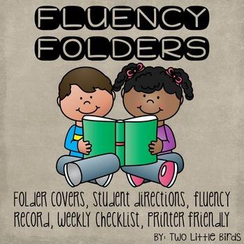 Student Fluency Folders