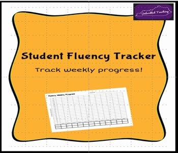 Student Fluency Tracker