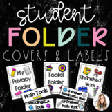 Student Folder Covers & Labels