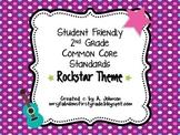 Student Friendly 2nd Grade Common Core Standards *ROCKSTAR