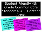 Student Friendly 4th Grade Common Core Standards- ALL Cont