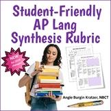 Student-Friendly AP English Language Synthesis Essay Rubric