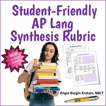 Ap Language Synthesis Essay Worksheets Teaching Resources