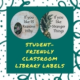 Student-Friendly Classroom Library Labels