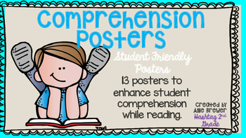 Student Friendly Comprehension Posters