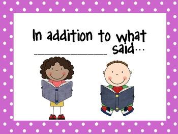Student Friendly Conversation Starters