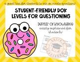 Student-Friendly DOK Levels!