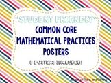 """""""Student-Friendly"""" Mathematical Practice Standards Posters"""
