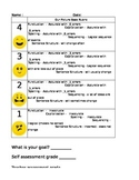 Student Friendly Picture Book Rubric