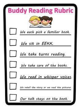 Student Friendly Rubrics for Literacy Center Work