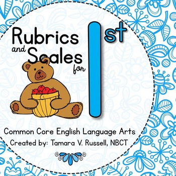 Student Friendly Scale & Rubric for First Grade ELA (Common Core Aligned)