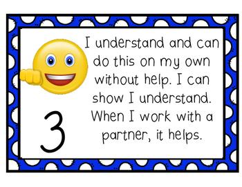 Student Friendly Self Assessment