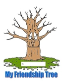 Friendship Tree - Colored