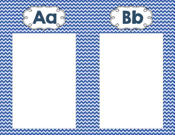 Student Generated Alphabet Background