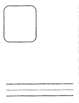 Student Generated Alphabet Blank Template