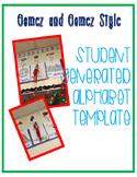 Student Generated Alphabet Gomez and Gomez Style