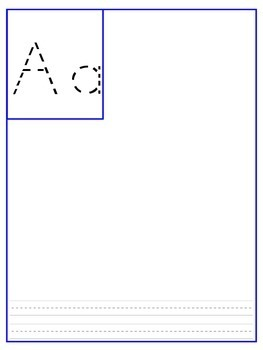 Student Generated Alphabet (Templates)