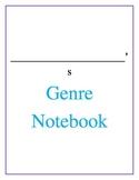 Student Genre Notebook