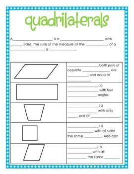 Student Geometry Journal
