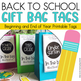 Student Gift Bags for Back to School Meet the Teacher
