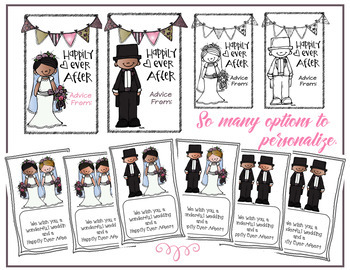 Student Gift Book: Getting Married (Now color and editable text sections)