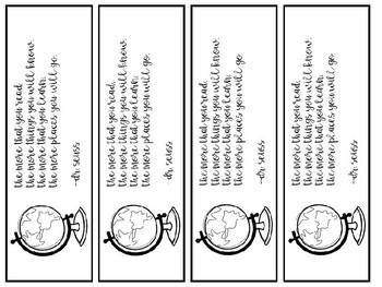 EDITABLE Student Gift Bookmarks FREEBIE